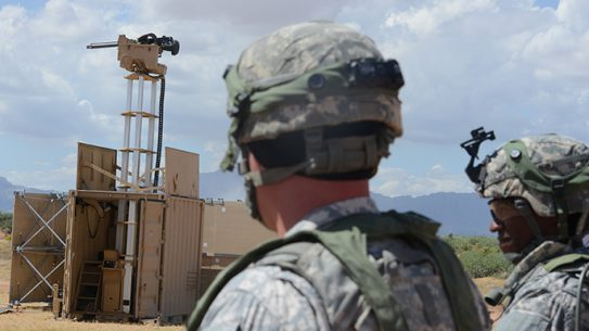 Remote Control Weapons Perimeter Security Fort Bliss