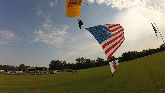 Remington Great Americans Shoot 2015 flag