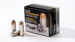 Sig Sauer .38 Super +P Elite Performance Ammunition