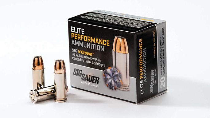 Sig Sauer .38 Super +P Elite Performance Ammunition