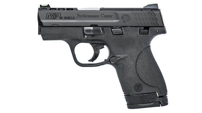 Smith & Wesson's M&P Shield .40 S&W Ported Pistol
