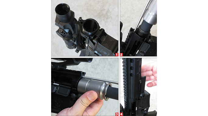 Test DRD Tactical CDR-15 Rifle steps