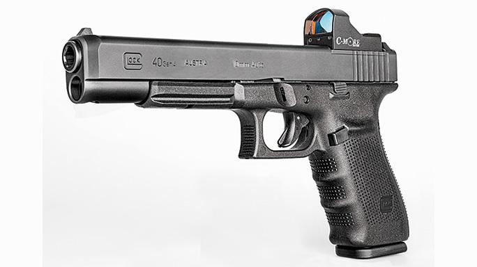 Test Glock 40 Gen4 MOS solo