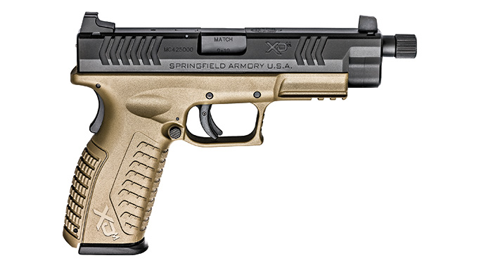"Springfield Armory XDs XDM 4.5"" Threaded Barrel"