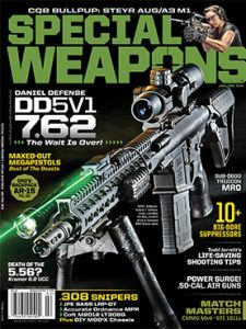 Special Weapons For Military & Police January/February 2016 cover