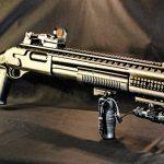 12 Gauge Shotgun Harris Tactical Full Rail System