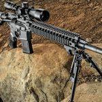 Daniel Defense MK12 Rifle solo