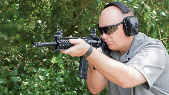 Smith & Wesson M&P15T Rifle tactical weapons lead