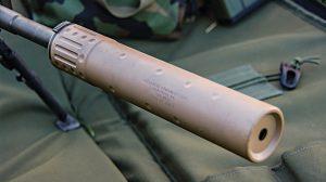 Remington model 700 AAC Titan-QD suppressor