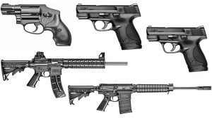 M&P Family: 5 Sentinels From Smith & Wesson