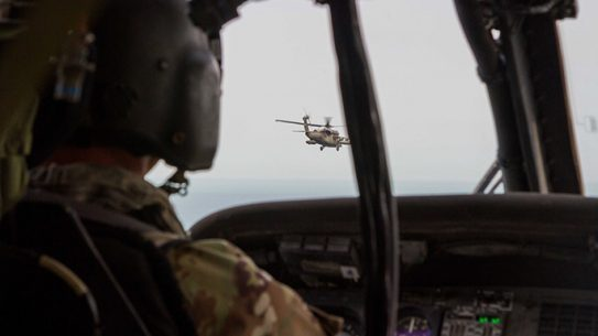 UH-60 Blackhawk Deck-Landing Qualification Exercise