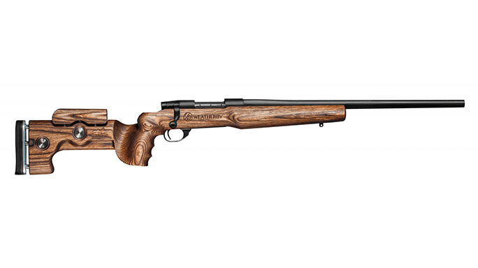 New Rifles Weatherby Vanguard Laminate H-Bar