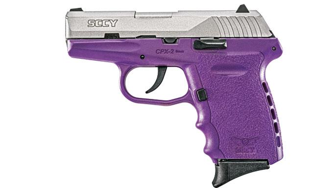 SCCY CPX-3, CPX-3, SCCY CPX-3 pistol, CPX-3 pistol, CPX-3 handgun, CPX-1, CPX-2 purple