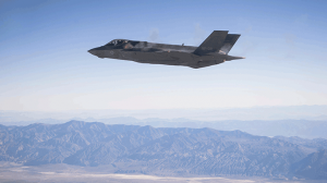 F-35A Lightning II Fires First Shots