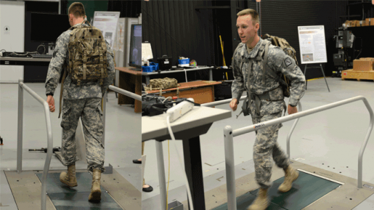 Army Research Lab Energy Harvesting Backpack