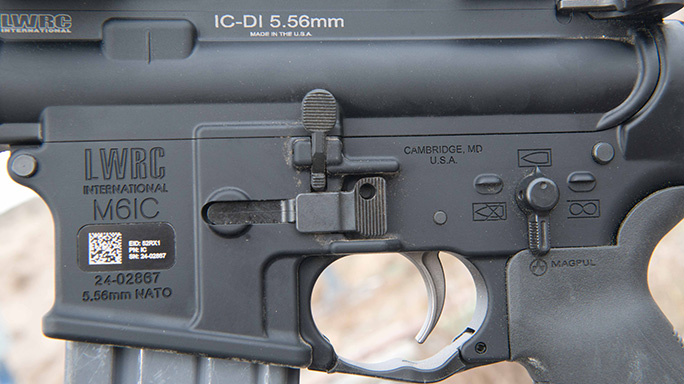 Exclusive Video LWRC International LWRCI-DI controls