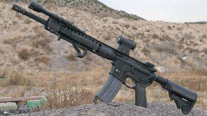 Exclusive Video LWRCI IC-DI Rifle left