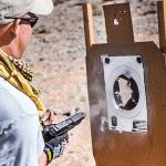 Gunfight anatomy target