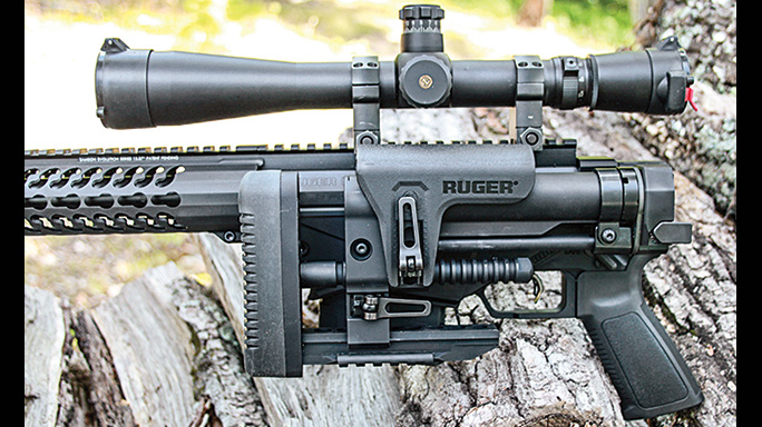 Ruger 7.62mm Precision Rifle folded