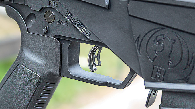 Ruger 7.62mm Precision Rifle trigger
