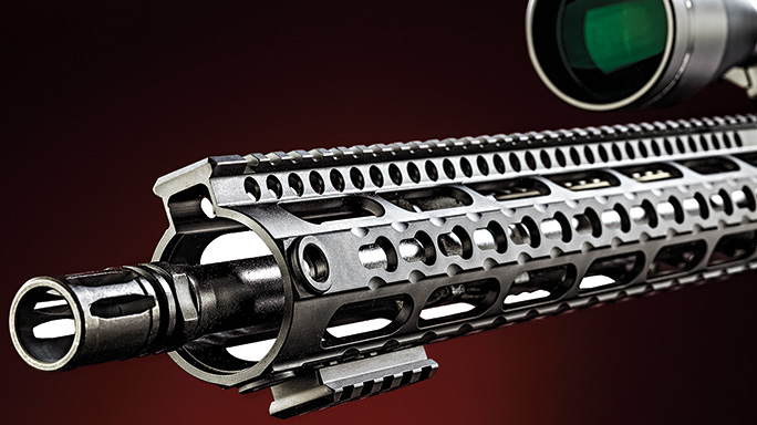 Test Windham Weaponry R16SFST-308 Rifle rail