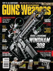 Guns & Weapons for Law Enforcement December/January 2016 cover