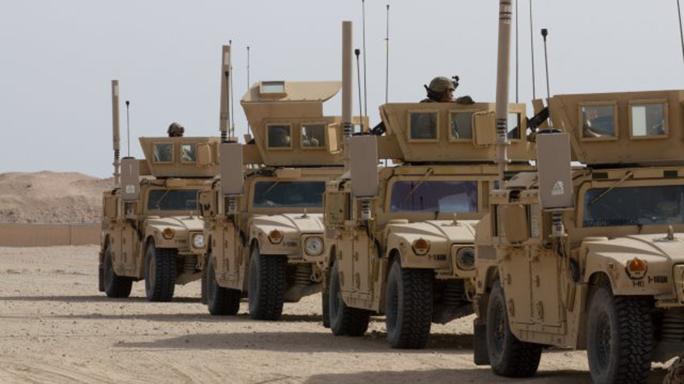 Vehicle gunnery Humvees