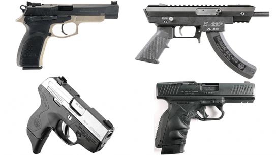17 New Pistols For Compeition, Self Defense