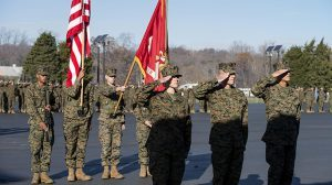 Officer Candidate School salute