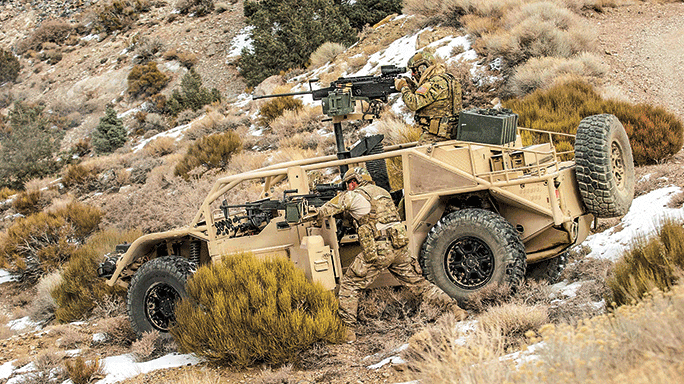 General Dynamics Flyer hill