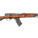 Chinese Assault Rifles Type 63