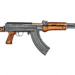 Chinese Assault Rifles Type 81