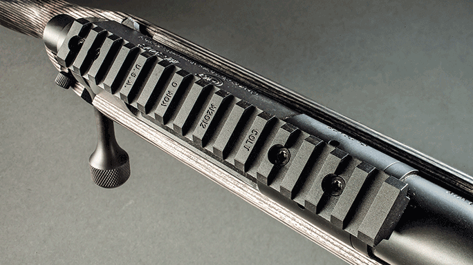 Colt M2012 LT308G Rifle rail