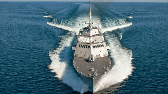 Littoral Combat Ship USS Milwaukee Speed