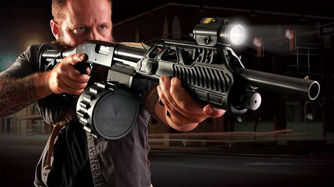 12 Gauge Shotgun Adaptive Tactical Sidewinder Venom Drum Kit reup
