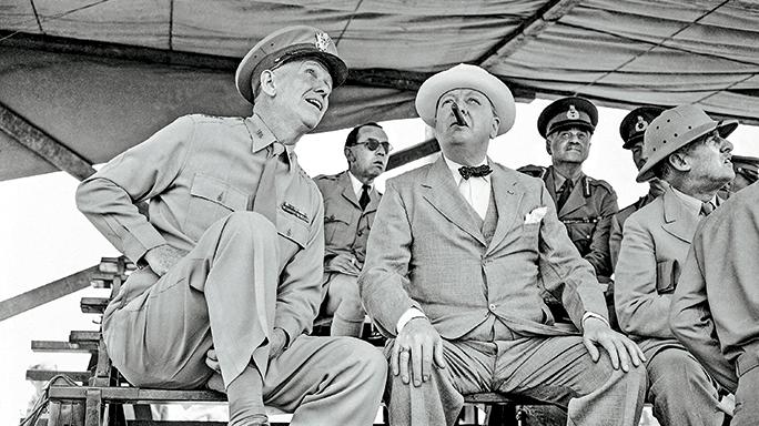 U.S. General George Marshall.