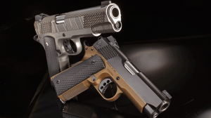 Combat Handguns 2015 CHRISTENSEN ARMS 1911 OFFICER'S MODEL