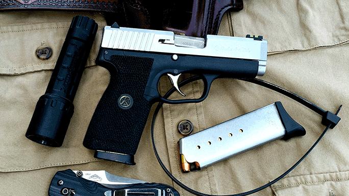Combat Handguns 2015 KAHR CW40