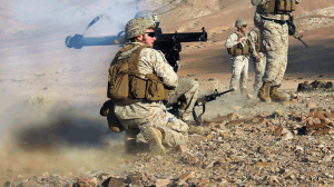 26th Marine Expeditionary Unit Live-Fire Rocket Shoot