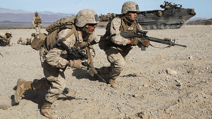 2nd Battalion, 7th Marine Regiment Mechanized Assault