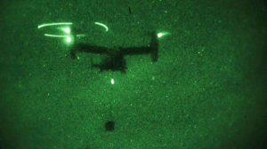 2nd TSB Marines Night External Lift Operation