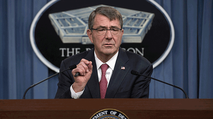 Ash Carter Military Occupations Women