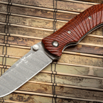 Wilson Combat ELC Elite Damasteel Knife cocobolo