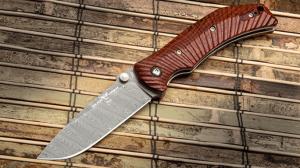 Wilson Combat ELC Elite Damasteel Knife cocobolo