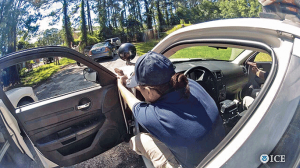 Immigration and Customs Enforcement Glock 26 suspect