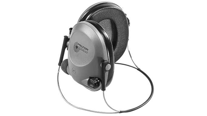 Hearing Protection Peltor Tactical 6S Behind The Head Earmuffs