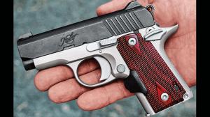 Kimber Micro Crimson Carry hand
