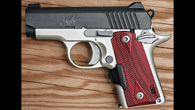 Kimber Micro Crimson Carry solo