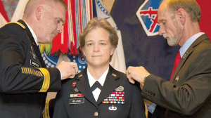 Diana Holland First Female Commandant West Point