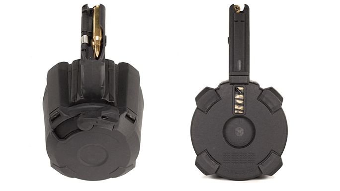 Magpul PMAG D-60 Drum Magazine duo